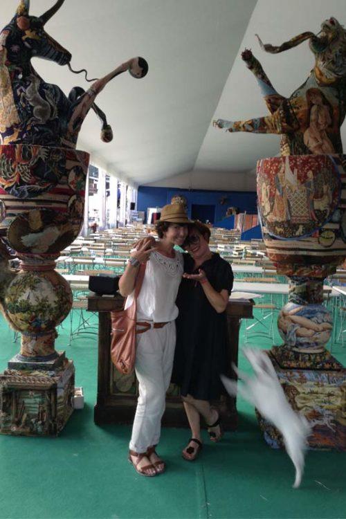 L'espace VIP du Jumping International Edmond de Rothschild décoré par Formes et Utopie !