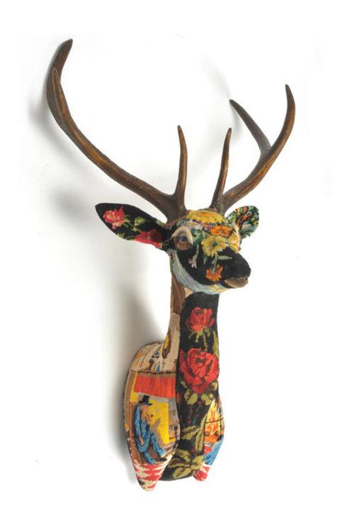 Les animaux tapissés de Frédérique Morrel