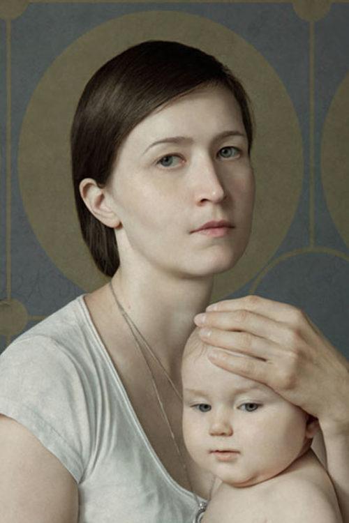 Julia Schestag, une artiste Russe à Megève
